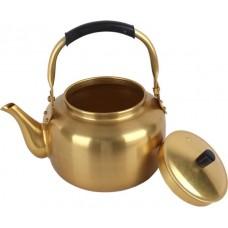 أباريق الشاي من نحاس ، اصفر - 3 لتر